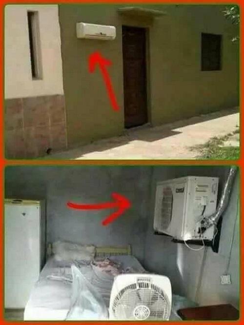 Thợ lắp máy lạnh thông minh.