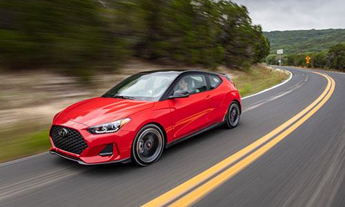 Hyundai Veloster 2019 bán ra tại Mỹ từ quý hai 2018.
