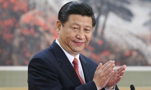 Chủ tịch Trung Quốc Tập Cận Bình. Ảnh: Feng Li.