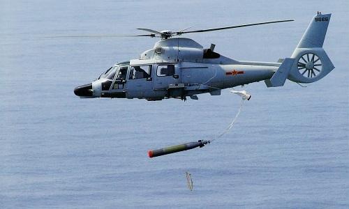 Trực thăng Trung Quốc diễn tập tấn công mục tiêu trên Biển Đông