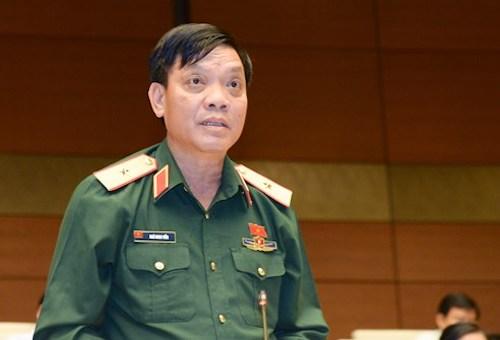 Thiếu tướng Ngô Minh Tiến, Phó tổng tham mưu trưởng Quân đội nhân dân Việt Nam. Ảnh: QH