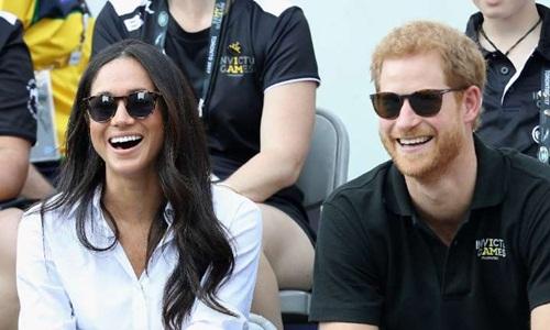 Harry and Meghan Markle sẽ kết hôn vào ngày 19/5 tới. Ảnh: AFP.