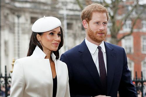 Hoàng tử Harry và hôn thê Meghan Markle. Ảnh: Reuters