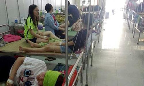 75 sinh viên bị ngộ độc sau buổi liên hoan chia tay