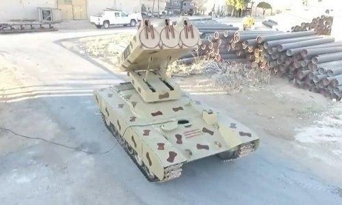 """Quân đội Syria biên chế """"pháo phản lực quái vật"""""""
