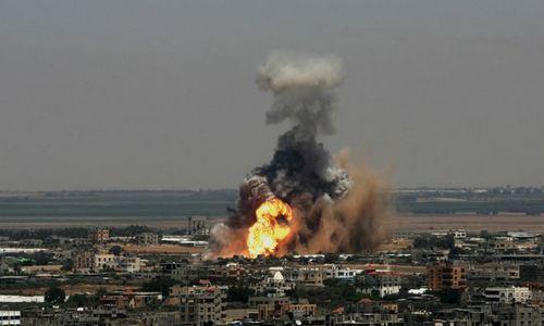 Israel không kích xưởng vũ khí của Hamas tại Dải Gaza