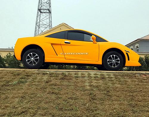 Lamborghini Gallardo nhái của hãng xe Trung Quốc. Ảnh: Carscoops.