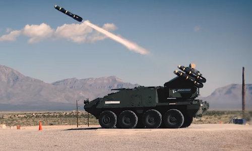 Mỹ biến thiết giáp Stryker thành tổ hợp phòng không uy lực