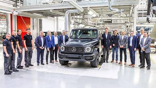 Mercedes G-Class 2019 bắt đầu được sản xuất tại nhà máy quen thuộc tại Áo. Ảnh: Motor1.