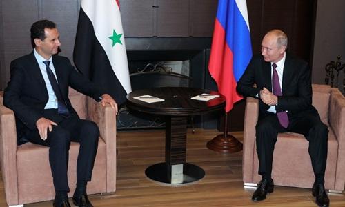 Putin kêu gọi các nước rút quân để Syria tái thiết - ảnh 1