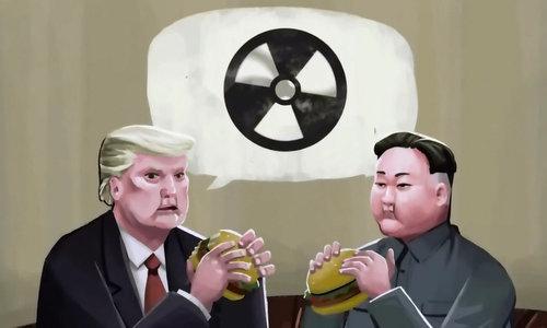 """Bất đồng khái niệm """"phi hạt nhân hóa"""" giữa Trump và Kim Jong-un"""
