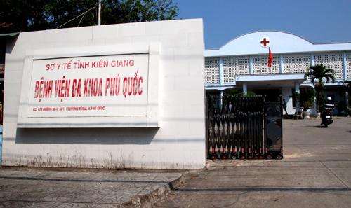 Bệnh viện đa khoa Phú Quốc - nơi sản phụ xấu số đến sinh con và tử vong. Ảnh: Phúc Hưng.