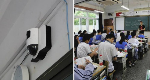 Nhà trường mong muốn hệ thốnggiúp học sinh tập trung hơn trong lớp. Ảnh: Next Shark