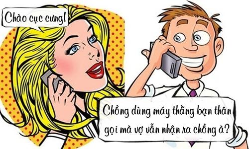 Tình yêu của vợ và điện thoại thằng bạn thân -