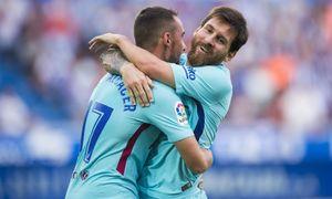 34 bàn giúp Messi lên ngôi Vua phá lưới, đoạt Giày Vàng 2017-2018