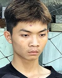 Trần Minh Khánh (18 tuổi) cầm đầu nhóm thanh niên gây ra vụ đâm chém khiến ba người trong nhóm đối phương tử vong. Ảnh: Công an cung cấp