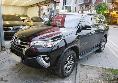 Toyota Fortuner 2017 1 cầu được rao bán khoảng 1,2 tỷ đồng. Ảnh: Bá Xuân.