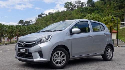 Dòng xe giá rẻ nội địa Perodua Axia của Malaysia. Ảnh: Drivesafe.