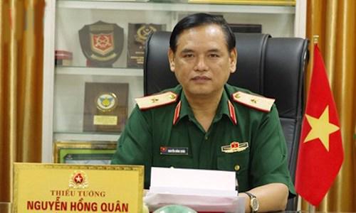 Thiếu tướng Nguyễn Hồng Quân. Ảnh: PV