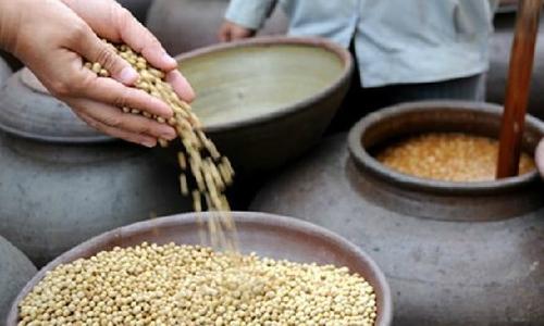 Đặc sản tương đậu nành nguyên hạt xứ Bạc Liêu