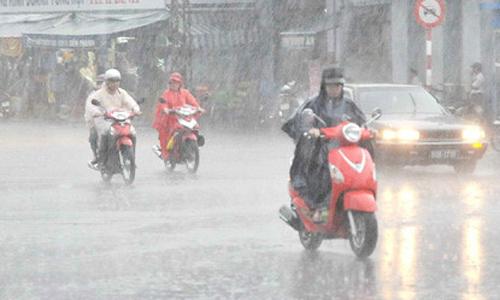 Miền Bắc cuối tuần mưa to