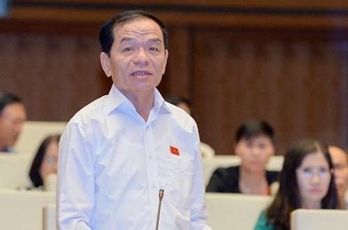 Ông Lê Thanh Vân - Uỷ viên thường trực Uỷ ban Tài chính ngân sách Quốc hội. Ảnh: Quốc hội