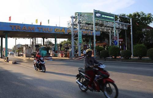 Trạm thu giá Bến Thuỷ (Nghệ An). Ảnh: Nguyễn Hải