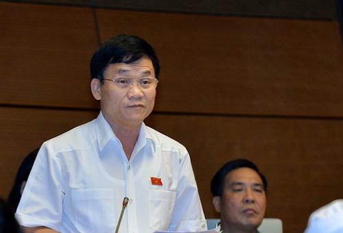 Đại biểu Trần Văn Mão, Nghệ An. Ảnh: QH