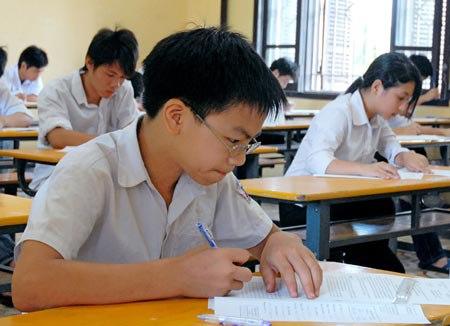 TrườngTHPT chuyên Hà Nội Amsterdam không tổ chức kiểm tra đánh giá năng lực học sinh để tuyển sinh vào lớp 6 mà vẫnxét học bạ như các năm trước.