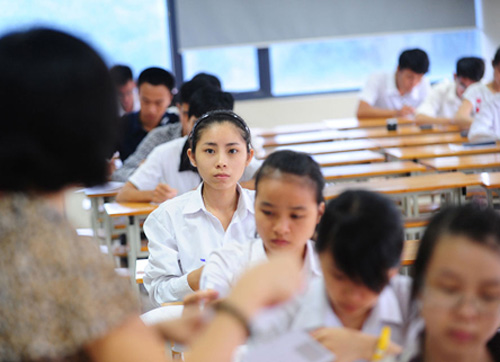 Gần 80.000 thí sinh của Hà Nội sẽ dự thi THPT quốc gia năm 2018.