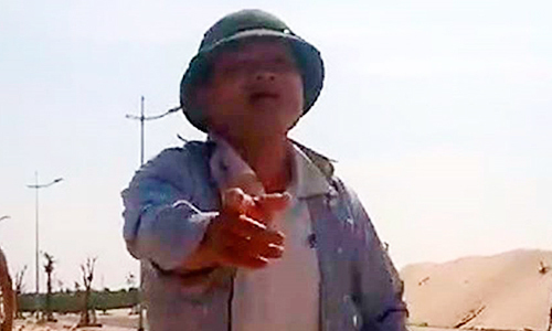 Cán bộ huyện dọa bắn công an xã khi bị phát hiện khai thác cát