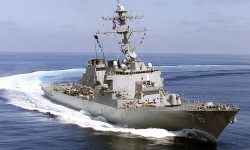 Trung Quốc chỉ trích Mỹ vì điều tàu tuần tra sát quần đảo Hoàng Sa
