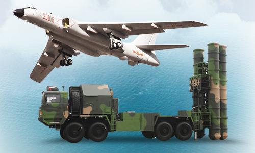 Tầm hoạt động của khí tài Trung Quốc đưa trái phép tới Biển Đông. Bấm vào ảnh để xem đầy đủ.
