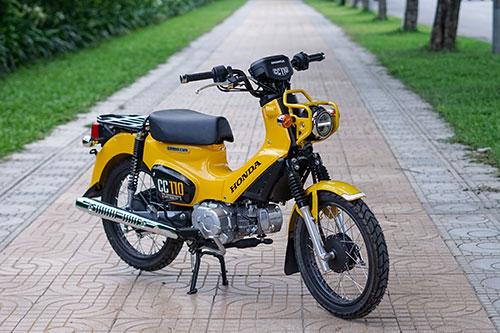 Honda Cross Cub phiên bản 2018 đầu tiên ở Hà Nội. Ảnh: Lương Dũng.
