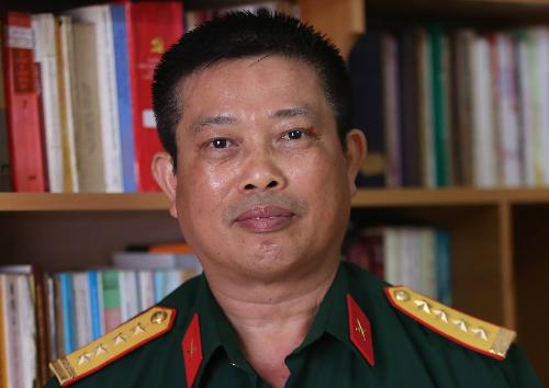 Đại tá Vũ Văn Khanh. Ảnh: Gia Chính