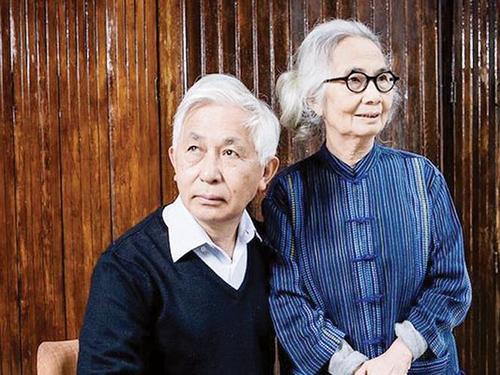 Vợ chồng GS Trần Thanh Vân - Lê Kim Ngọc. Ảnh:Le Monde.