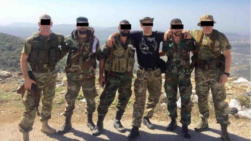 Một đơn vị lính đánh thuê Nga tại Syria hồi năm 2017. Ảnh: Twitter.