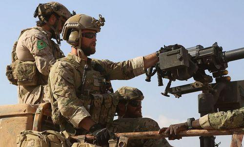 Lính đặc nhiệm Mỹ triển khai tới Syria đầu năm 2016. Ảnh: AFP.