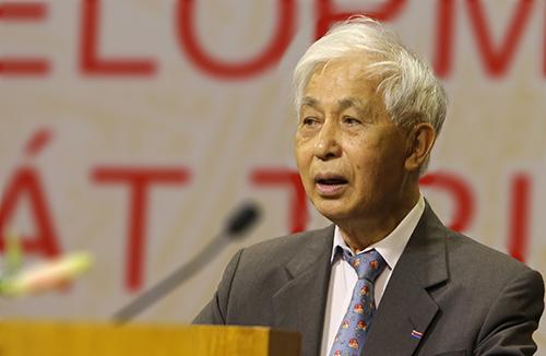 Giáo sư Trần Thanh Vân. Ảnh: Đắc Thành.