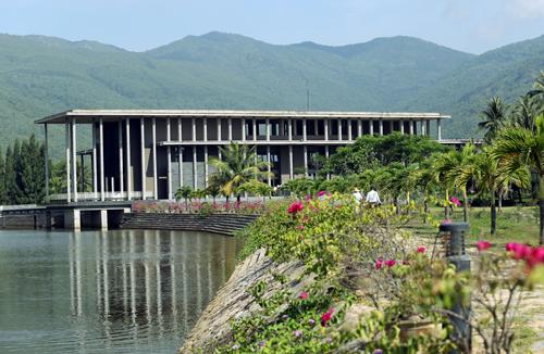 Trung tâm quốc tế khoa học và giáo dục liên ngành (ICISE), cũng là nơi tổ chứcGặp gỡ Việt Nam. Ảnh: Đắc Thành