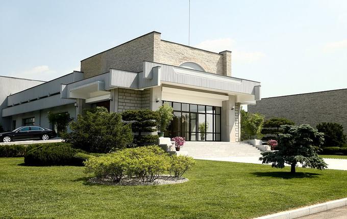 Dinh thự của Kim Jong-un ở ngoại ô Bình Nhưỡng