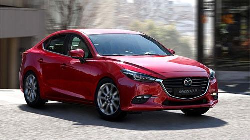 Mazda3 thế hệ hiện hành.