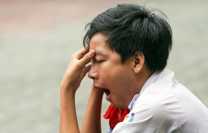 Học sinh TP HCM căng thẳng trước cuộc đua vào lớp 10