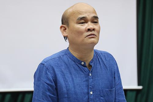 Cục trưởng Nguyễn Huy Quang. Ảnh: Phạm Dự.