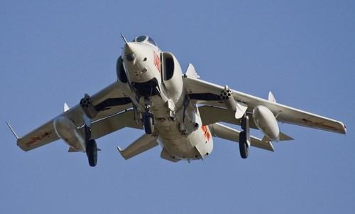 Tiêm kích bom Q-5A của Trung Quốc bay huấn luyện hồi năm 2012. Ảnh: Air Space Mag.