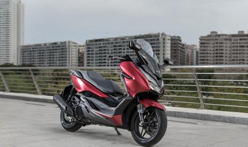 Force 125 là mẫu xe tay ga cỡ nhỏ chủ lực của Honda tại thị trường châu Âu.
