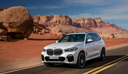 Ra mắt BMW X5 thế hệ mới
