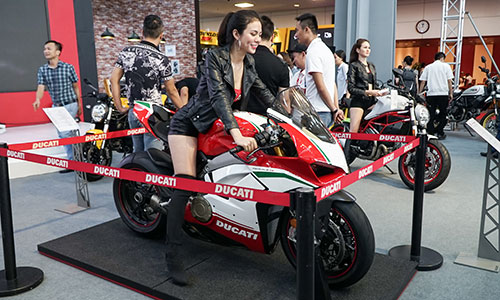 Siêu phẩm Ducati Panigale V4 S.