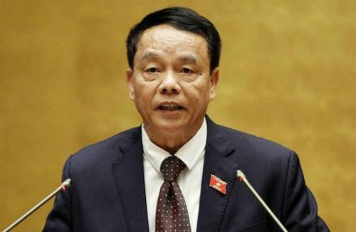 Thượng tướng Võ Trọng Việt, Chủ nhiệm Ủy ban Quốc phòng An ninh. Ảnh: QH