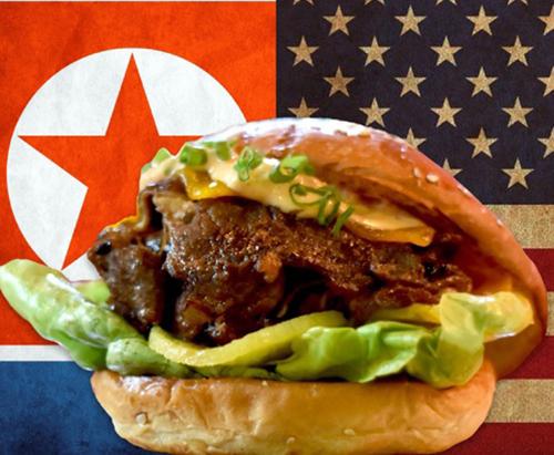 Món bánh có tên The Burger for World Peace (Bánh burger vì hòa bình thế giới) được Wolf Burgers
